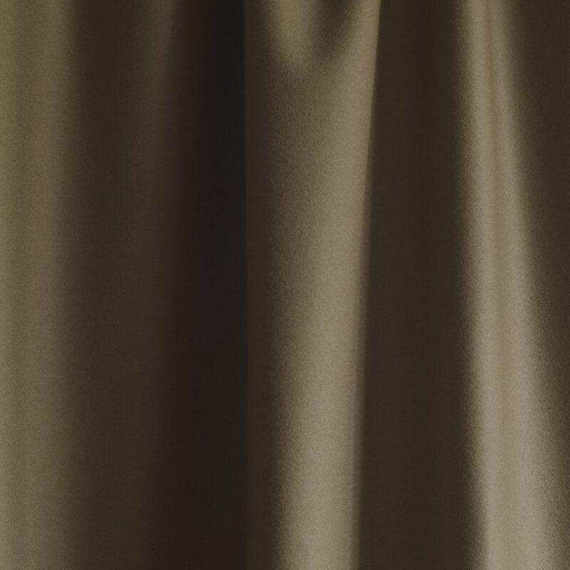 extra wide broadcloth bronze light tan baize ruffled