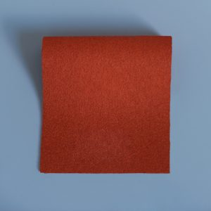Burnt Orange Precut Baize Squares – Card Table Size