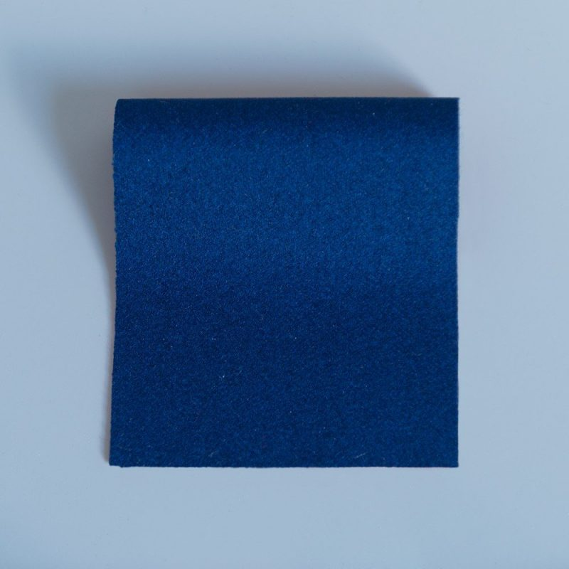 Doe Skin Baize Swatch Garter Blue