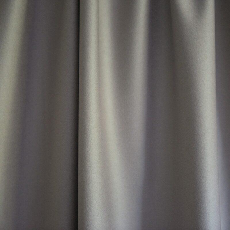 Merino Wool Baize Ruffled - Gull Grey