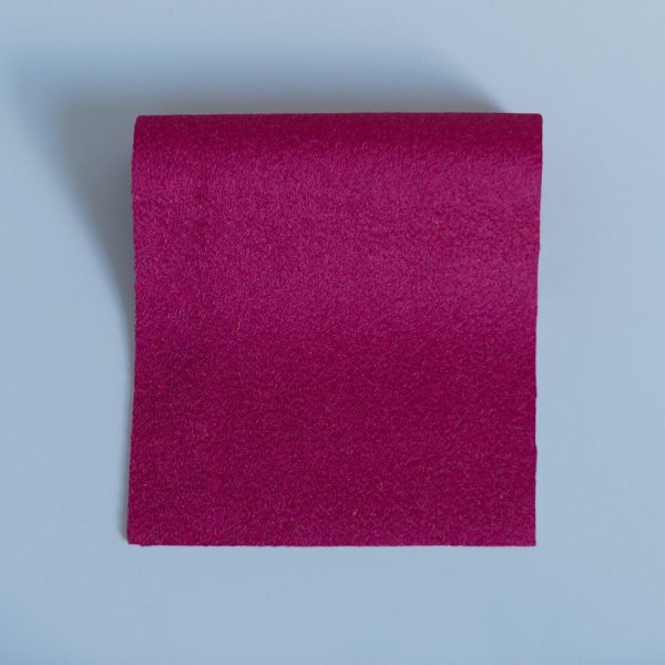Doe Skin Baize Swatch Raspberry