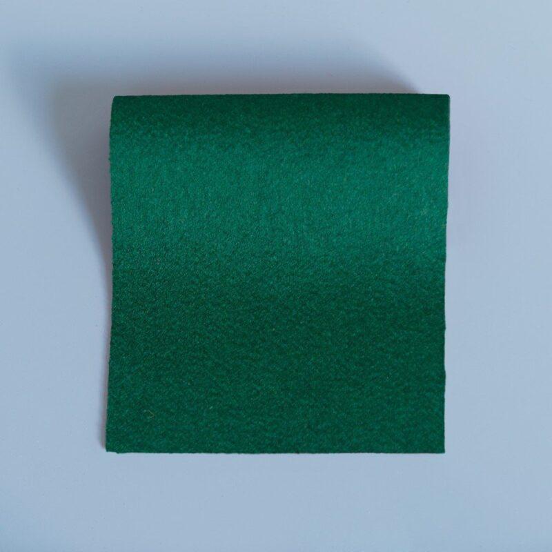 Doe Skin Baize Swatch Moss Green
