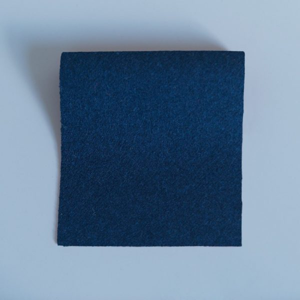 Doe Skin Baize Swatch Navy Blue