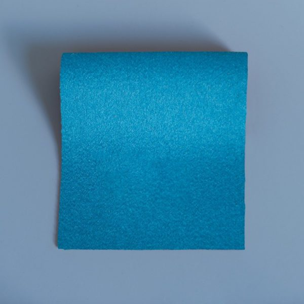 Doe Skin Baize Swatch - AAC Blue