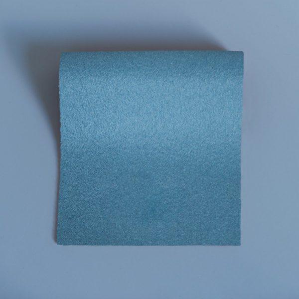 Doe Skin Baize Swatch Minerva Blue