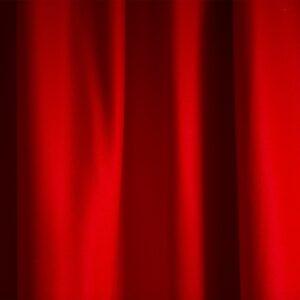 Merino Wool Baize – Bright Scarlet
