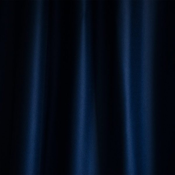 Merino Wool Baize Ruffled - Peacock Blue
