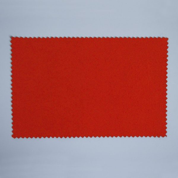 Extra Wide Broadcloth Bright Red baize for fashion, millinery and interior design