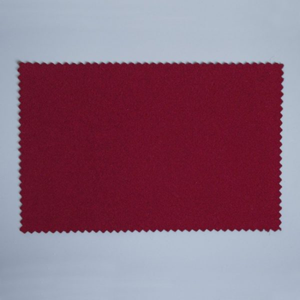 Extra Wide Broadcloth Burgundy Red baize for fashion, millinery and interior design