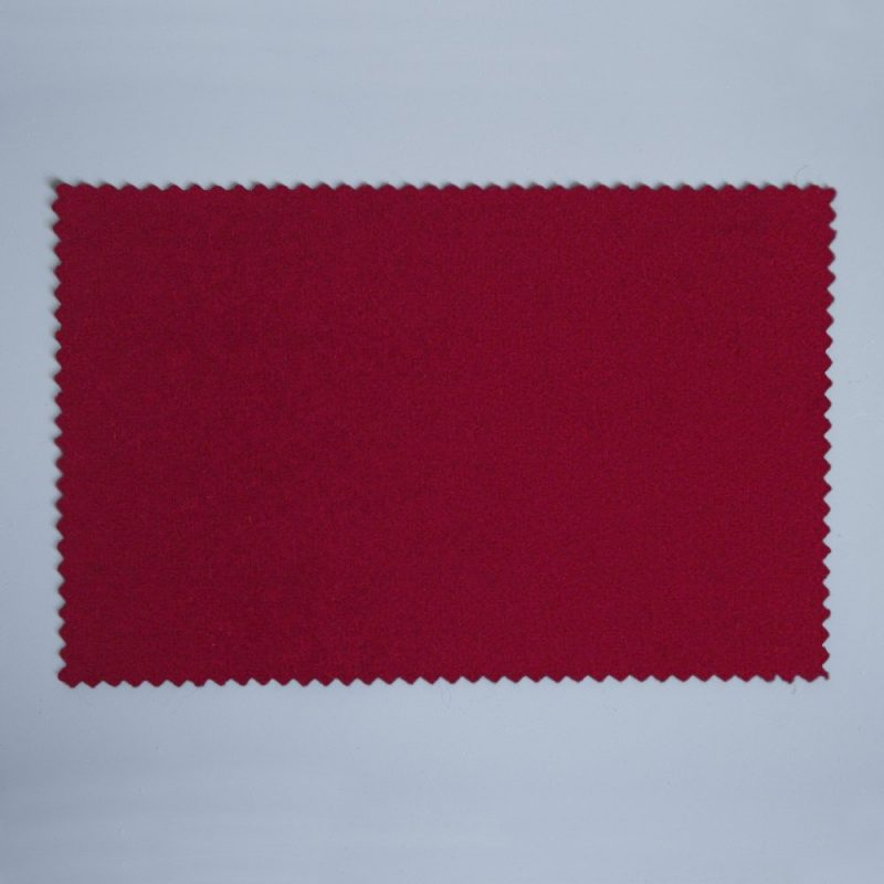 Extra Wide Broadcloth Cherry Red baize for fashion, millinery and interior design