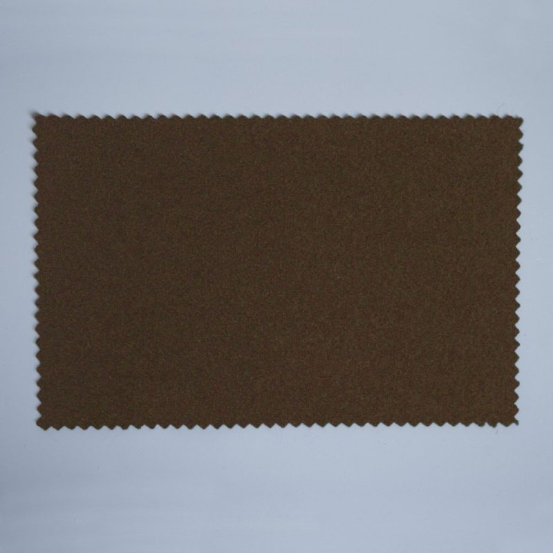 Extra Wide Broadcloth Dark Brown baize for fashion, millinery and interior design