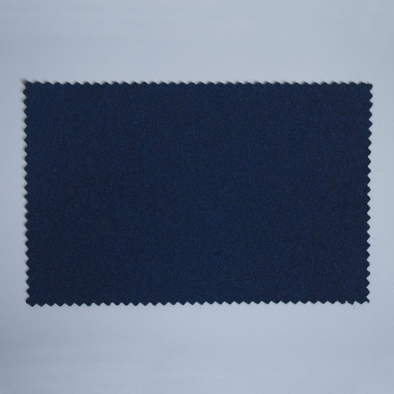 Extra Wide Broadcloth Dark Navy baize for fashion, millinery and interior design