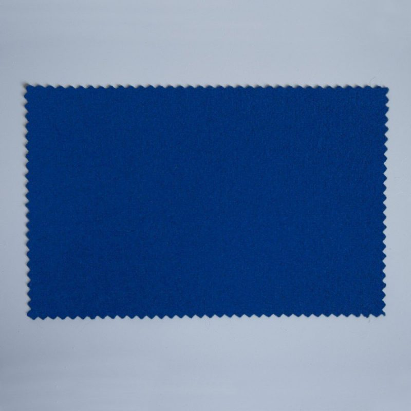 Extra Wide Broadcloth Electric Blue baize for fashion, millinery and interior design