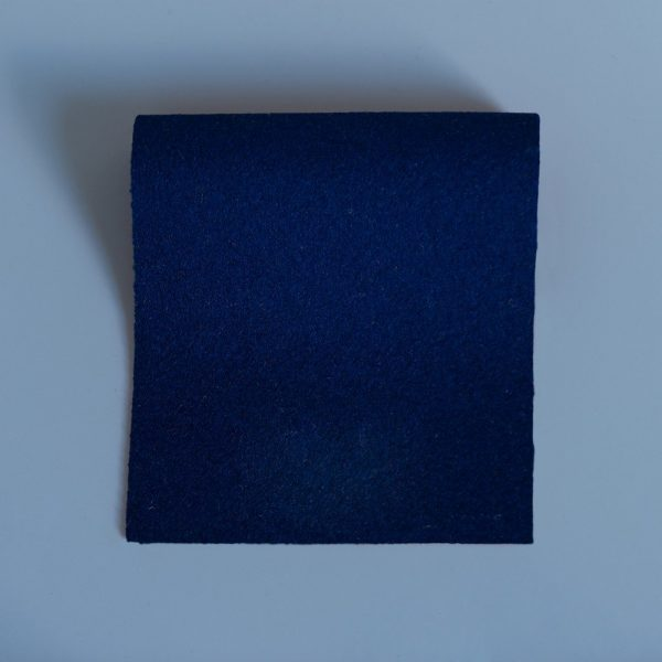 Extra Wide Broadcloth French Navy baize for fashion, millinery and interior design