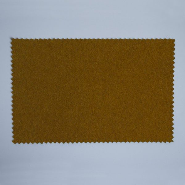 Extra Wide Broadcloth Gingerbread baize for fashion, millinery and interior design