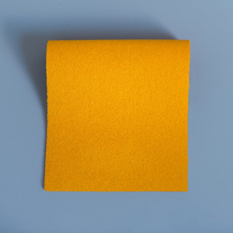 Extra Wide Broadcloth Gold baize for fashion, millinery and interior design