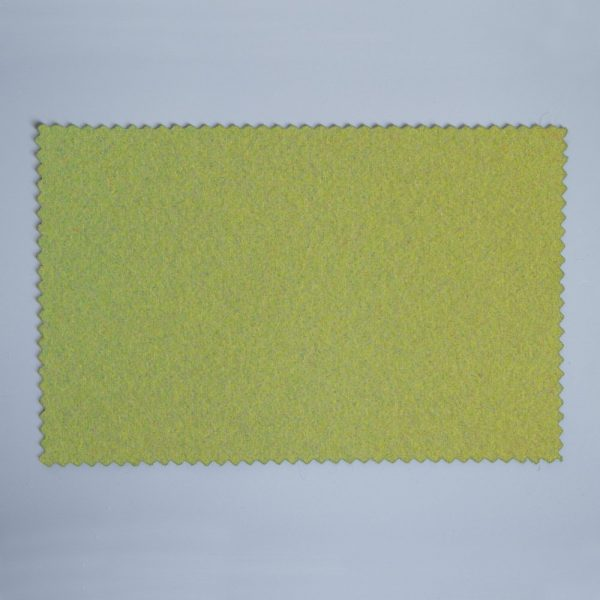 Extra Wide Broadcloth Green Clay baize for fashion, millinery and interior design