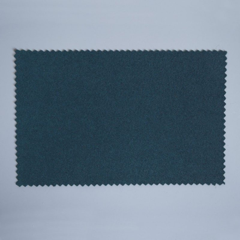 Extra Wide Broadcloth Grey Blue baize for fashion, millinery and interior design