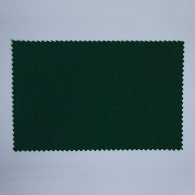Extra Wide Broadcloth Hunter Green baize for fashion, millinery and interior design