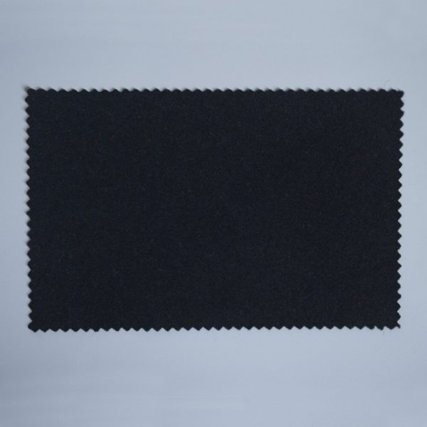 Extra Wide Broadcloth Inky Blue Black baize for fashion, millinery and interior design