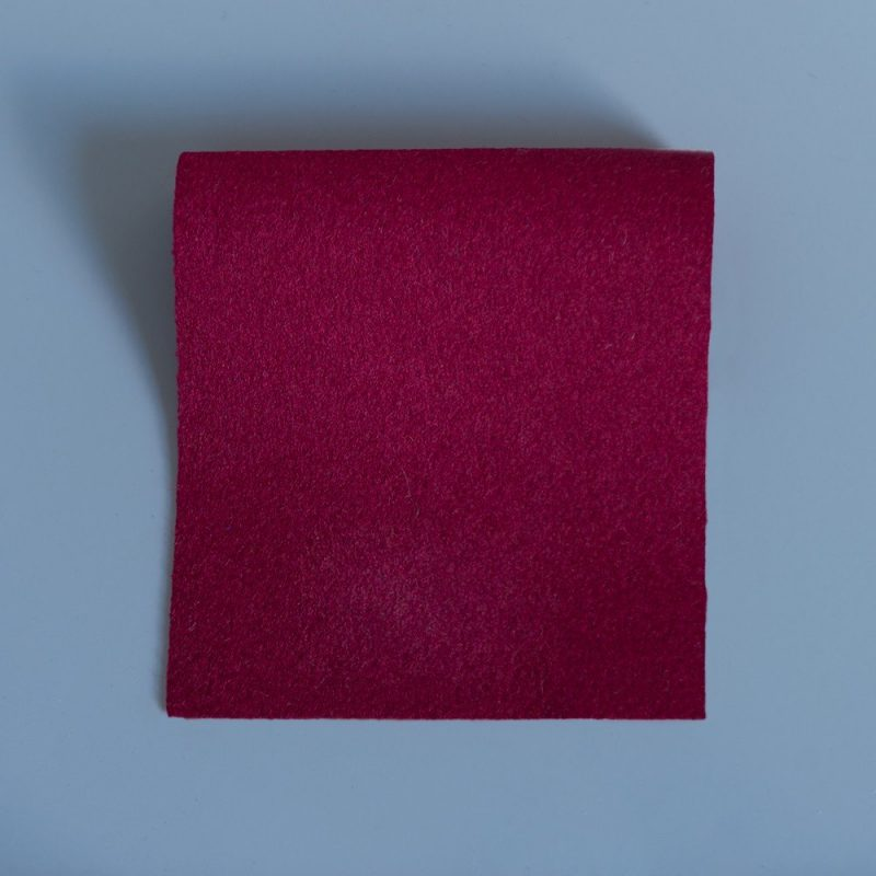 Extra Wide Broadcloth Calret Red baize for fashion, millinery and interior design