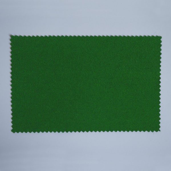 Extra Wide Broadcloth Moss Green baize for fashion, millinery and interior design