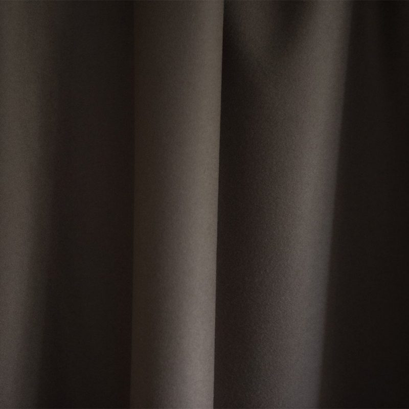 Extra Wide Broadcloth Mushroom Brown baize ruffled for fashion, millinery and interior design