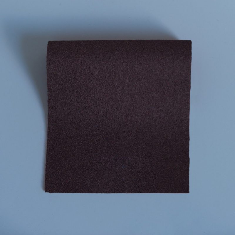 Extra Wide Broadcloth Nutmeg Brown baize for fashion, millinery and interior design
