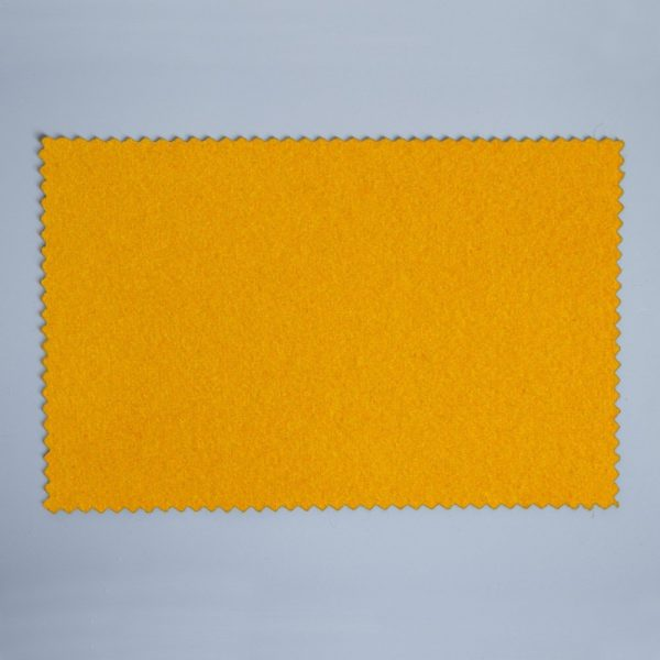 Extra Wide Broadcloth Pollen Yellow baize for fashion, millinery and interior design