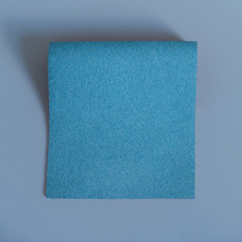 Extra Wide Broadcloth Powder Blue Persian Gulf baize for fashion, millinery and interior design