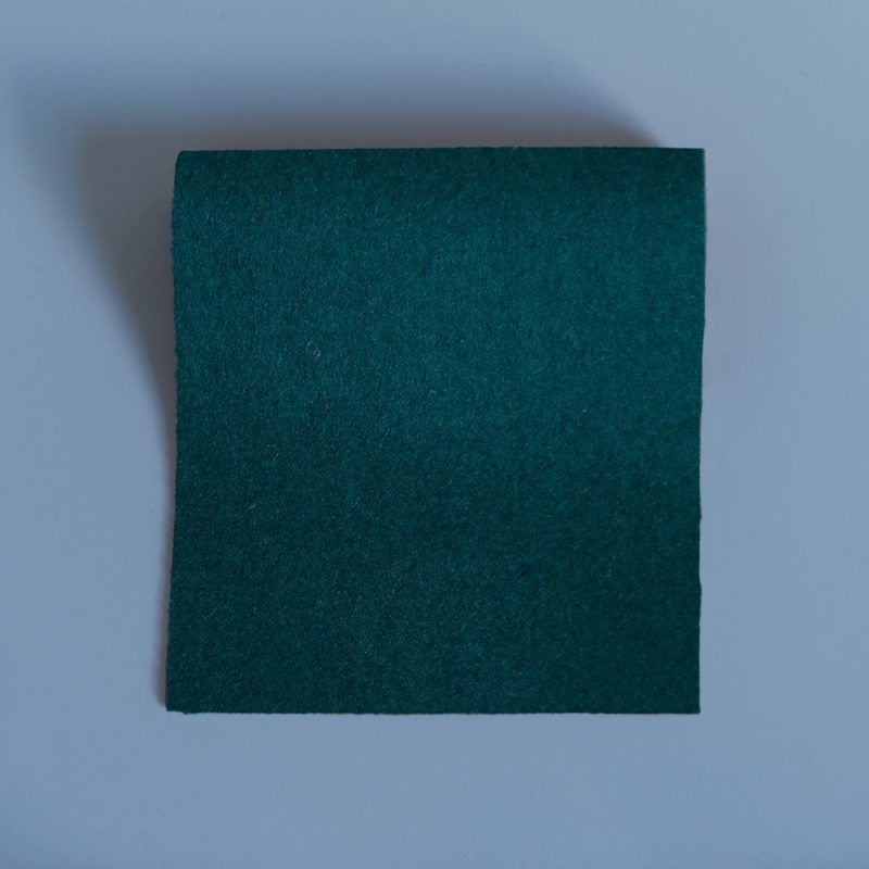 Extra Wide Broadcloth Ranger Green baize for fashion, millinery and interior design