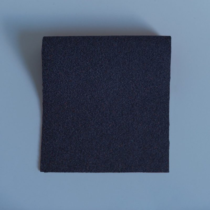 Extra Wide Broadcloth Royal Navy baize for fashion, millinery and interior design