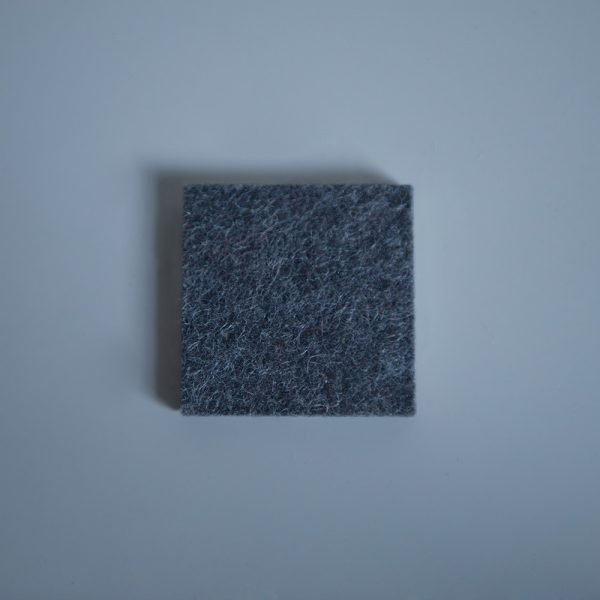 Thick Felt Anthracite - perfect for eco-flooring and interior materials