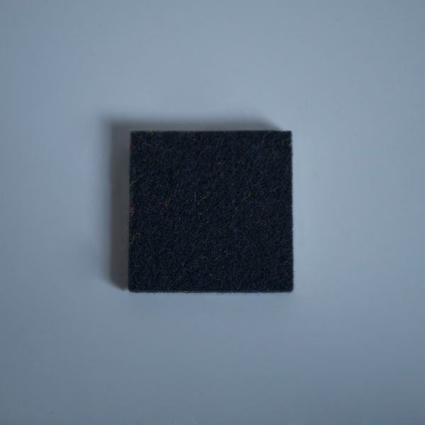 Thick Felt Black - perfect for eco-flooring and interior materials