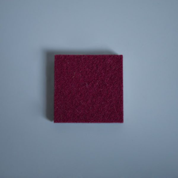 Thick Felt Bordeaux - perfect for eco-flooring and interior materials