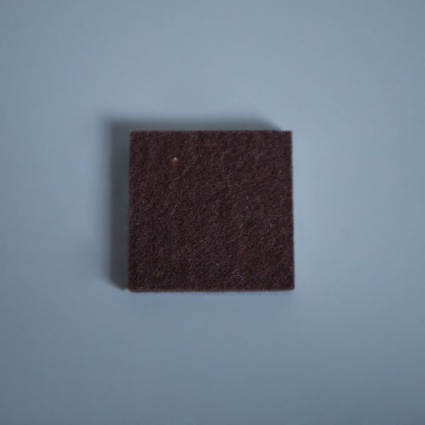 Thick Felt Dark Brown - perfect for eco-flooring and interior materials