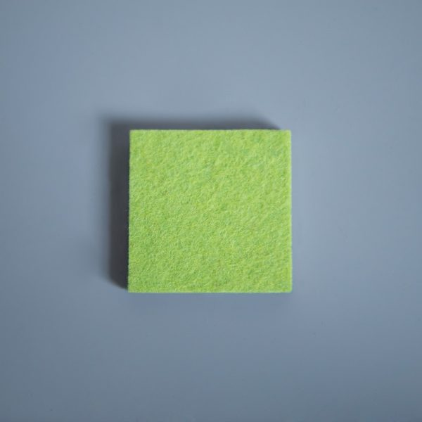 Thick Felt Lime Green - perfect for eco-flooring and interior materials