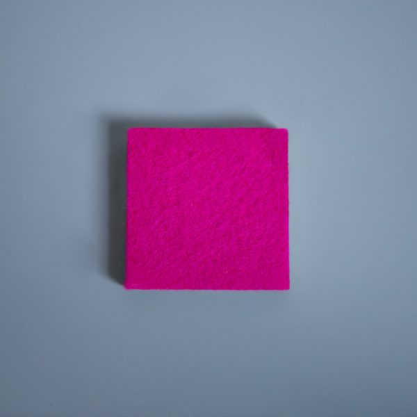 Thick Felt Magenta - perfect for eco-flooring and interior materials