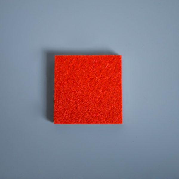 Thick Felt Orange - perfect for eco-flooring and interior materials