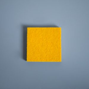 Extra Thick Felt Yellow