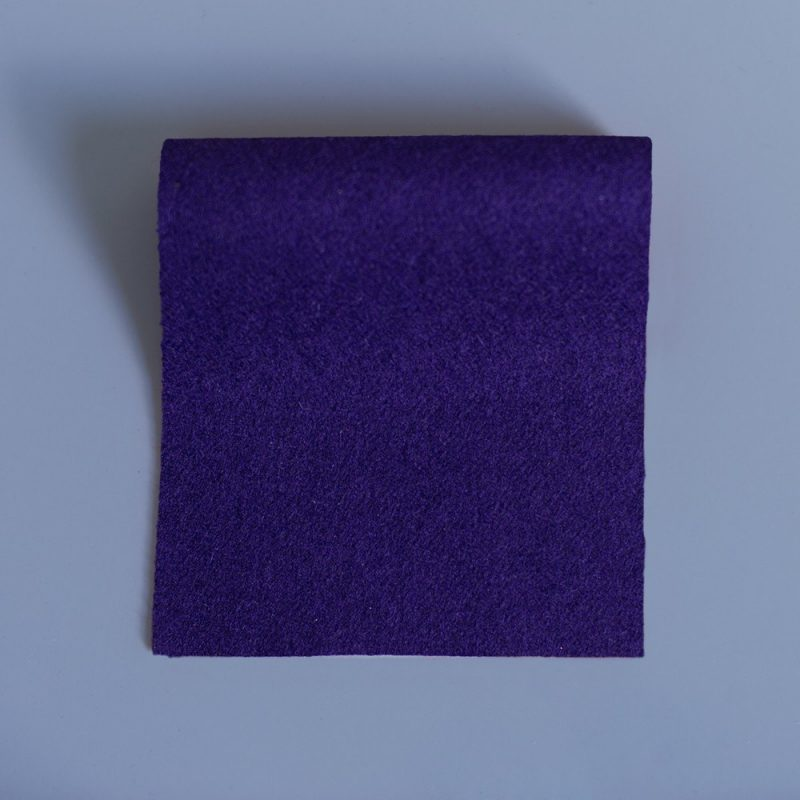 Doe Skin Baize Swatch Purple