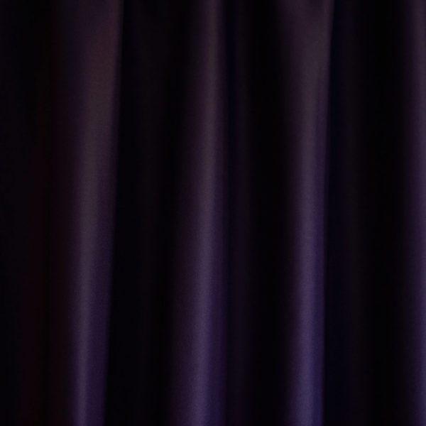 Merino Wool Baize Ruffled - Purple
