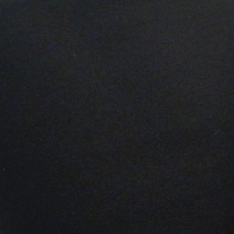 Swatch of Black Baize Ruffled