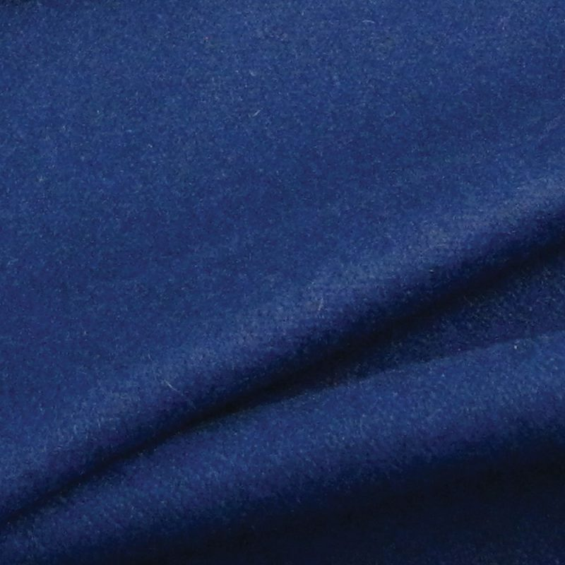Swatch of Navy Blue Baize Ruffled