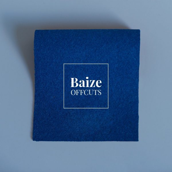 Blue Baize Remants and Offcuts