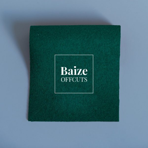 Green Baize Remants and Offcuts