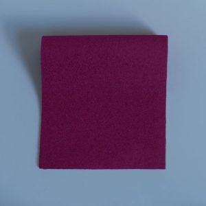 Vivid Hue Fine Baize Medical Maroon