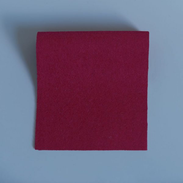 vivid hue fine baize red