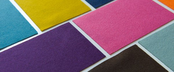 Fine Vivid Colour Baize Fabric
