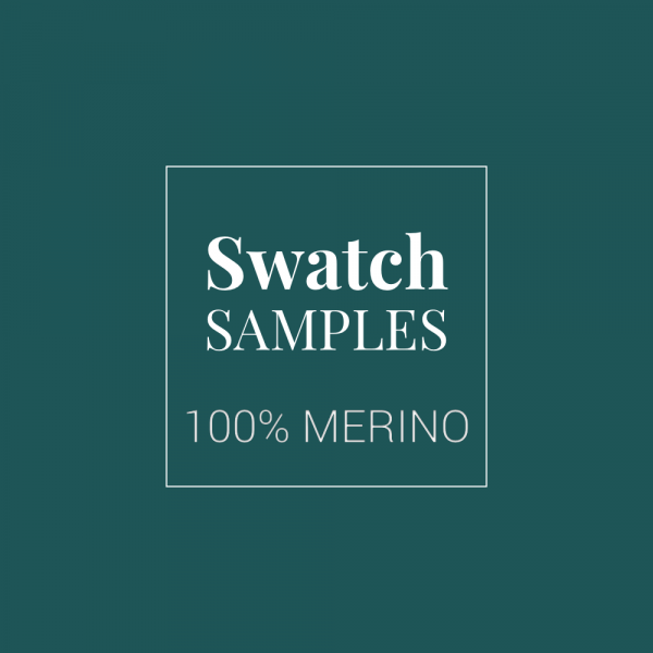 100% Merino Wool Baize Swatch Samples